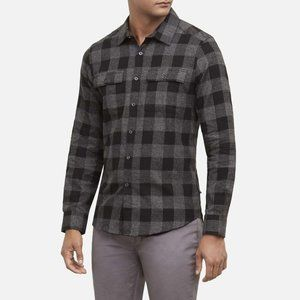 Kenneth Cole Slim-Fit Flannel